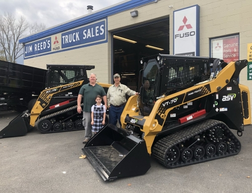Jim Reed Truck Sales Now an Authorized ASV Dealer