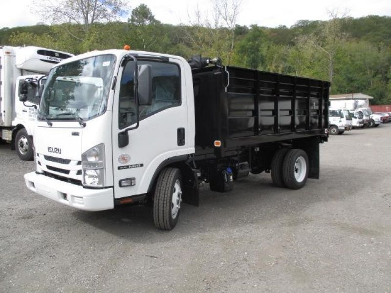 2018 ISUZU NRR WITH 12' STEEL LANDSCAPE DUMP - Jim Reed's