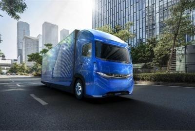 E-Fuso Electric Truck