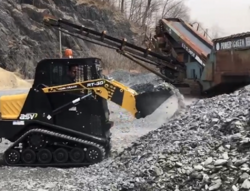 ASV RT-30 Track Loader in Action