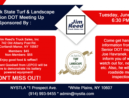 N. Y. State Turf & Landscape Assoc. DOT Meeting