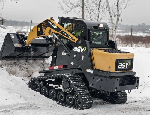 Clean Up Snow Like A Pro With Winter Skid Steer Rentals