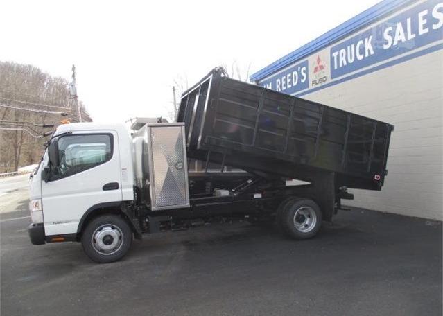 2019 MITSUBISHI FUSO FE160 12' Steel Dumptruck - Westchester County