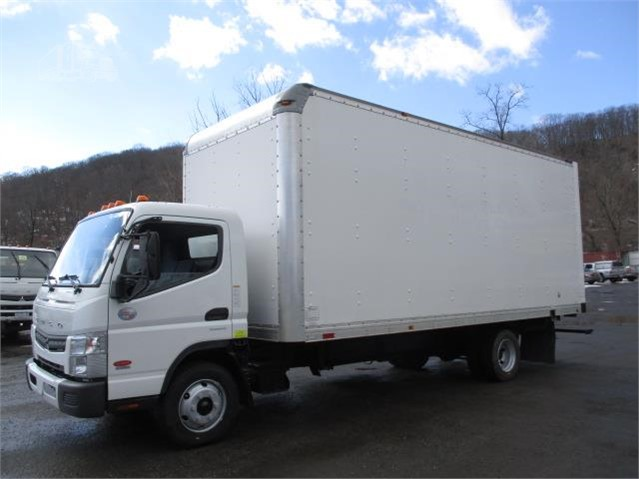 Used 2015 Fuso FE 20' Box Moving Truck for Sale - Westchester County
