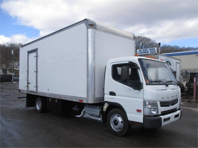 Truck Box For Sale >> Used 2015 Fuso Fe 20 Box Moving Truck For Sale Westchester County