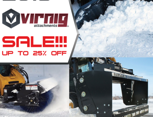 Snow Removal Attachments Sale – Skid Steers and Track Loaders