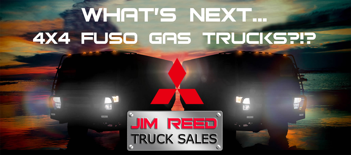 Will There Be A Mitsubishi Fuso 4X4 Gas Truck?!?
