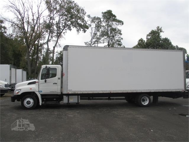 2011 Hino 258 Alp 26 Ft Box Truck Westchester Putnam County Ny